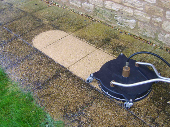 Landscape gardeners durham pvc roofline installers durham for Driveway cleaning chemicals